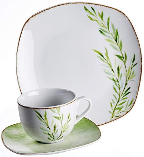Ritzenhoff & Breker Kaffeeservice Tosca, 18-teilig, Porzellangeschirr