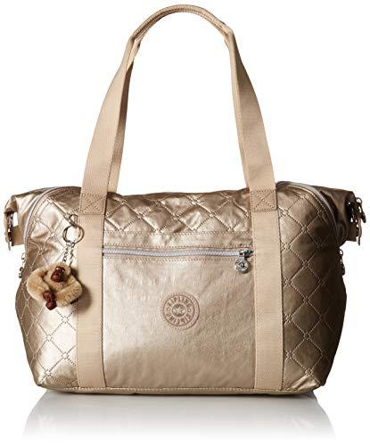 Kipling Damen Art Handbag Kunstvolle Handtasche, Toasty Gold Embossed, Einheitsgröße -