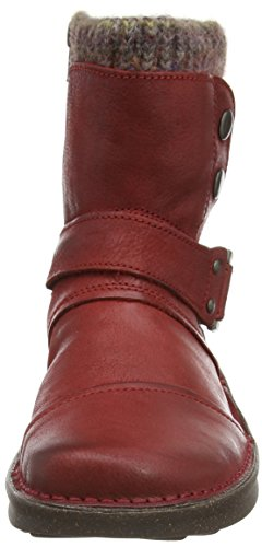 camel active - Ontario 28, Stivaletti Donna Rosso (Rot (dk.red))