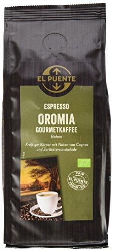 El Puente Oromia Espresso, Bohne, 3er Pack (3 x 250 g)