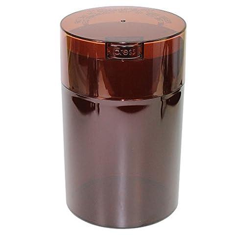 Coffeevac 0,5kilogram–L'ultime Emballé sous vide boite à café, Plastique, Coffee Tint Cap & Body, 1.85-Liter/1.6-Quart