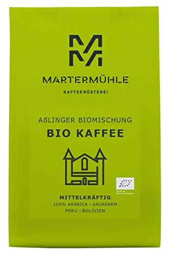 BIO Kaffee Aßlinger Biomischung 500g - Bio Kaffeebohnen Von Der Kaffeerösterei Martermühle:...