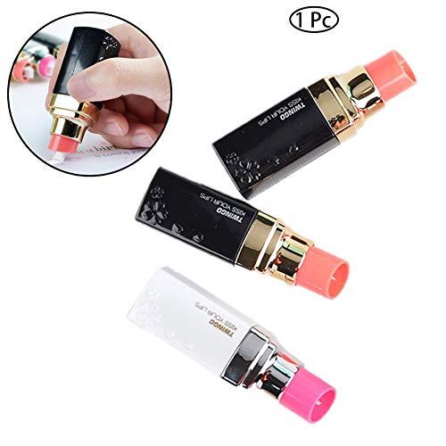 8M estilo lindo lápiz labial corrección cinta plástico