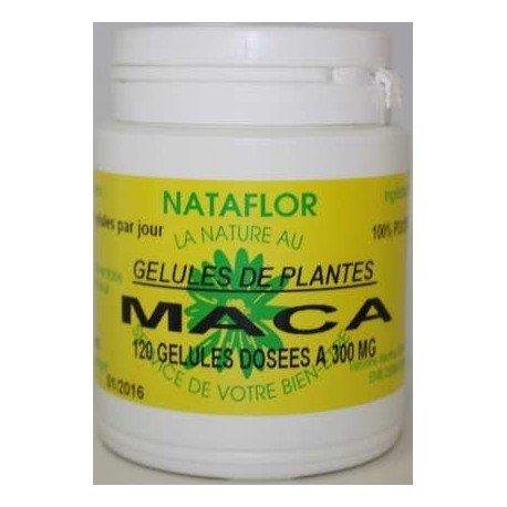 GELULES MACA 120 gélules à 300 mg poudre pure.