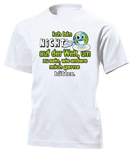 love-all-my-shirts Ich Bin Nicht auf der Welt, um zu sein 4437 Kinder T-Shirt (K) Gr.128