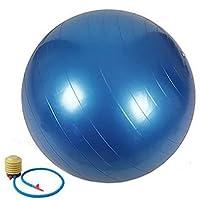 كرة يوغا 65 سم لتمارين التوازن واللياقة البدنية مع كرات البيلاتيس لضخ التوازن