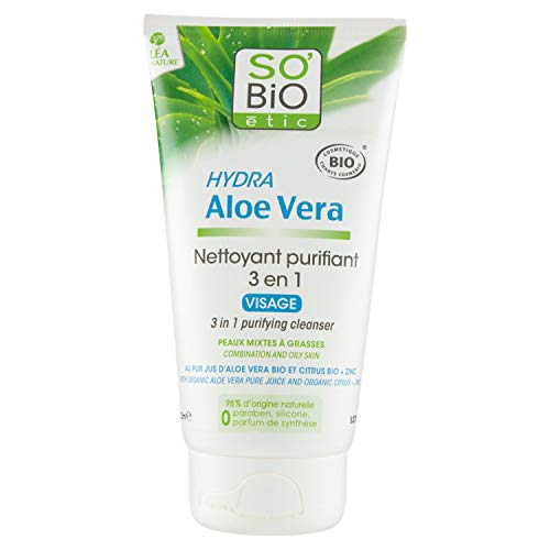 Scheda dettagliata So' Bio étic Detergente 3in 1pelli miste a grasse Hydra Aloe Vera bio 150ml
