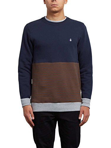 Herren Sweater Volcom 3Zy Crew Sweater Hazelnut