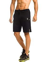 Azani Men's Front Notch Zipper Shorts
