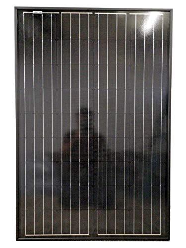 Hi-Tech Solar 80 W monokristallines Hochleistungs-Solarpanel zum Aufladen von 12 Volt Batterien in Wohnwagen, Wohnmobilen, Wohnmobilen, Booten und Offgrid Power Lösungen