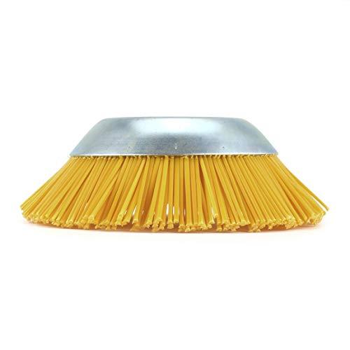 Außendurchmesser 200mm Innenloch 25,4mm Nylon Unkrautbürste Universal Trimmer Kopf Freischneider Durable Gartengeräte -