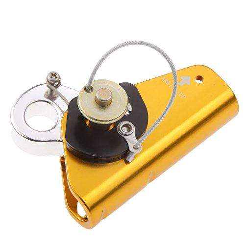 Seil-greifer (MagiDeal Klettern Sicherungsgerät, Abseilgerät - Seil Greifer, Seilklemme für 11-12mm Kletterseil / Sicherheitsseil - Self-braking Karabiner)