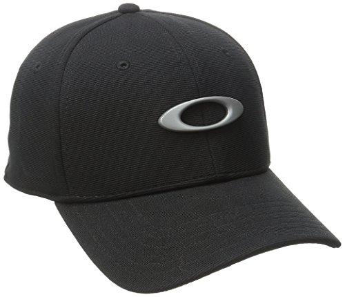 Oakley Herren Tincan Cap Stretch Fit Hats, Jet Black, L/XL