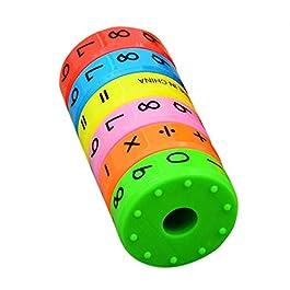 ac3ea58758 Liamostee 6 pz Magnetico Montessori Bambini Giocattoli educativi per Bambini  Matematica Numeri Fai