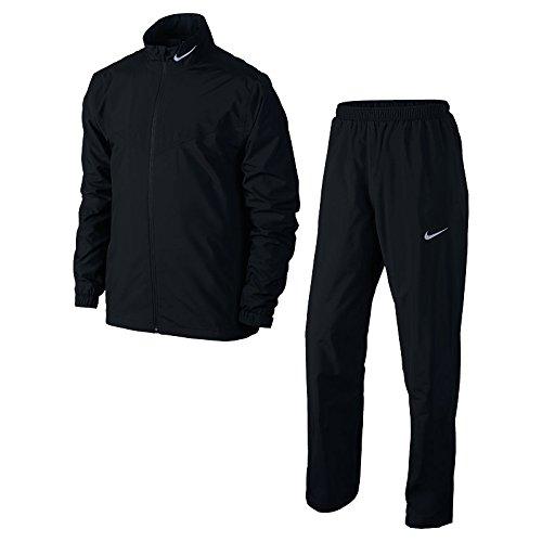 Nike Herren Storm-fit Rainsuit-Black/schwarz/(Reflektierende Text)-2x l XL schwarz