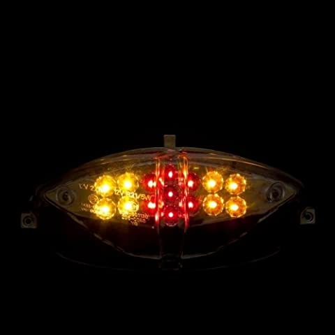 feu arrière maxtuned Lexus LED, fonction avec clignotant pour Speedfight 2, avec marque de contrôle