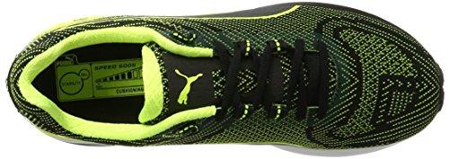 Puma Speed 600 S Ignite, Chaussures de Running Compétition Homme Noir (Puma Black-safety Yellow 06)