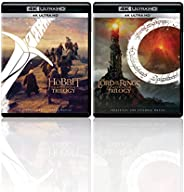 The Hobbit & The Lord of the Rings: Motion Picture Trilogy (Extended & Theatrical) (4K UHD) (