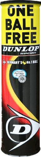 Preisvergleich Produktbild Dunlop Tennisball Fort Tournament 3+1,  gelb