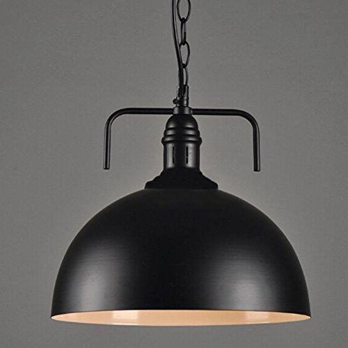 Noir Métal E27 Plafonnier de style industriel Vintage Lampe Suspension Edison Antique Hanging Light