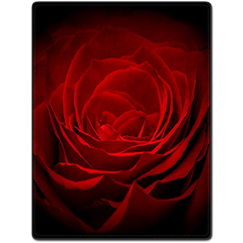 tslook rot Rose Red Schöne Art Home Welcome Fußmatte Teppich (81,3 x 45,7 cm L x W) (Womens Singlet Wrestling)