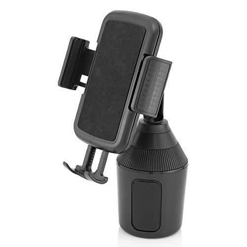 MidGard Universal Autohalterung für KFZ-Getränkehalter, Cup Mount für Smartphones bis zu 9,5cm Breite (Becherhalter Auto Im)