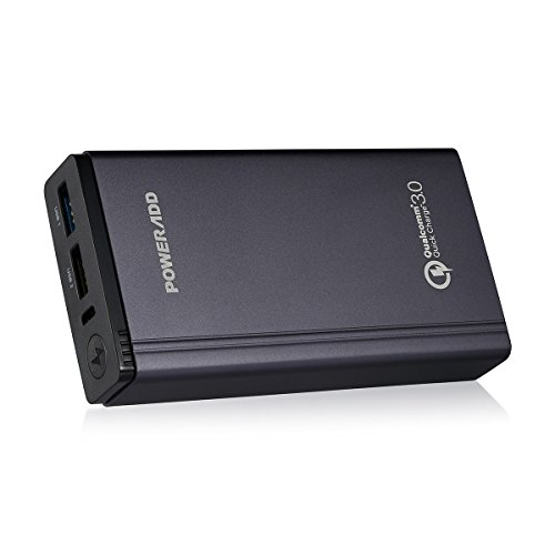 qualcomm-quick-charge-30-poweradd-10050mah-dual-ports-portable-charger-power-bank-with-qualcomm-qc-3