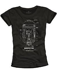 Vintage Nerd T-Shirt - R2 Roboter