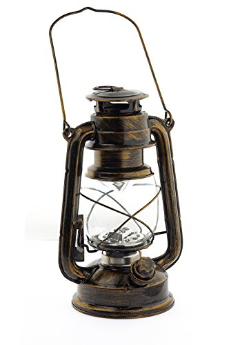 Preisvergleich Produktbild Dimmbare LED Lampe im Öl-lampen-Design Nostalgie, Retro, Sturmlaterne