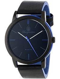 Burgmeister Armbanduhr für Herren mit Analog-Anzeige, Quarz-Uhr und Lederarmband - Wasserdichte Herrenuhr mit zeitlosem, schickem Design - klassische Uhr für Männer - BM523-623A-1  Ibiza