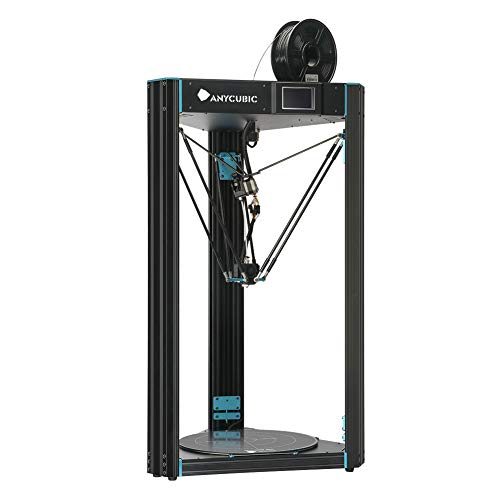 Stampante 3D ANYCUBIC D Predator Stampa di grandi dimensioni 370 * 455mm con Auto Levelling e Flying Extruder Adatto per PLA da 1,75mm, ABS, TPU