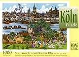Stadtansicht vom Deutzer Ufer um das Jahr 1530: Die Köln-Puzzles