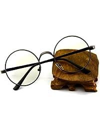 westeng Rétro Cadre de métal optique en cadre en verre ronde