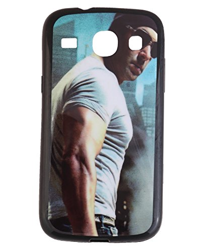 iCandy Matte Finish Soft Rubber Printed Back Cover for Samsung Galaxy Core Duos I8260 /8262 - Salman  available at amazon for Rs.99