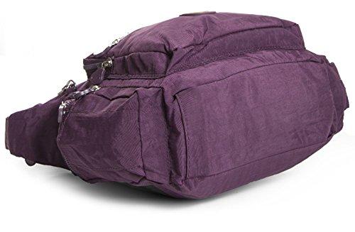 Big Handbag Shop, Borsa a tracolla donna One Magenta Pink