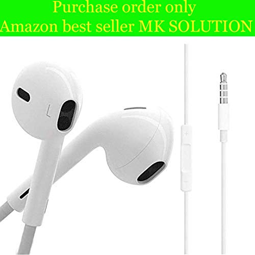 OPPO Digital janrike Earphone in-Ear Extra Bass with 3.5 mm Jack Headphones,...