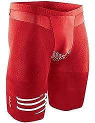 Compressport Pantalones Cortos Brutal Rojo Rojo - rojo Talla:medium