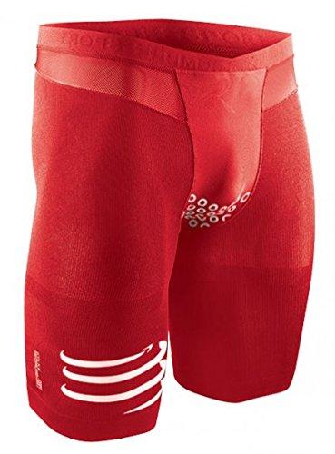 Compressport Pantalones Cortos Brutal Rojo Rojo - rojo Talla:extra-large