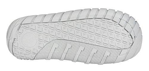 Jungen Kinderhausschuhe Viggami, grau, türkis, grau/Buchstaben und dunkelblau, Gr. 23 bis 30 (14 bis 18,7 cm) Grau