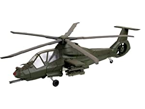Revell RAH-66 Attack Helicopter 1:72 Assembly kit Rotorcraft - maquetas de aeronaves (1:72, Assembly kit, Rotorcraft, RAH-66 Attack, Military aircraft, De plástico)