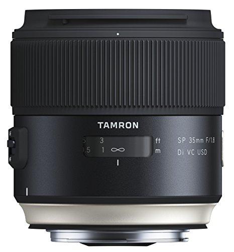 Tamron SP35mm F/1.8 Di VC USD Canon Objektiv (67mm Filtergewinde, fest) schwarz (35 Mm Tamron)