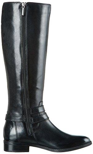 Clarks Pita Vienna, Bottes Hautes Femme Noir (Black)