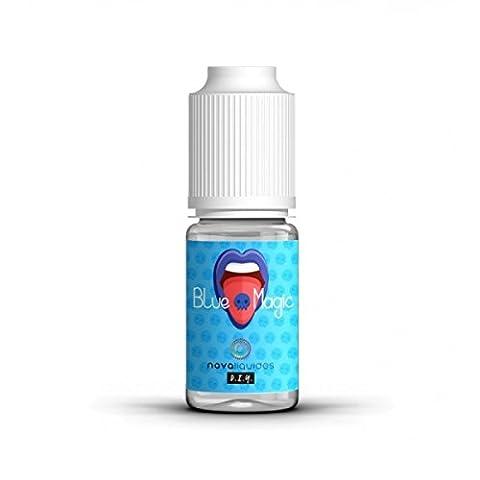 E-Liquide - Blue Magic TPD - Nova - Sans tabac ni nicotine - Vente interdite au moins de 18 ans - Produit vendu à l