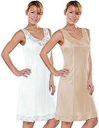 CYBELE 2er Sparpack Damen Unterkleid 14870 Gr 40-54 in Basic Farben