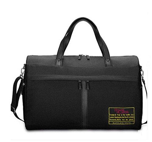 BUSL Grande capacità borsa bagaglio a mano sacchetto di spalla portatile di idrorepellente . c d
