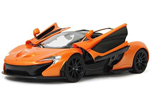 ferrari kinderauto Jamara 405095 - McLaren P1 1:14 27MHz Tür manuell Fahrzeug, Orange