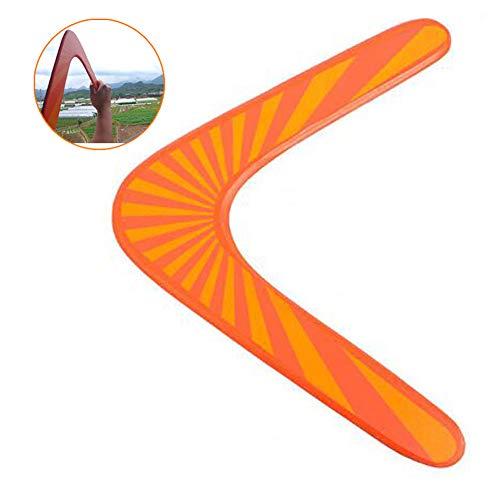 Profesional Holz Boomerang Sport-Spielzeug-Kind-Spielzeug-fliegen Im Freien V Shaped Boomerang Dart Lustige Saucer Wurf Fang