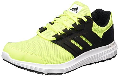 Adidas Galaxy Uomo 4 Scarpe Da Corsa Giallo (giallo Solare / Nero Nucleo / Nero Nucleo)