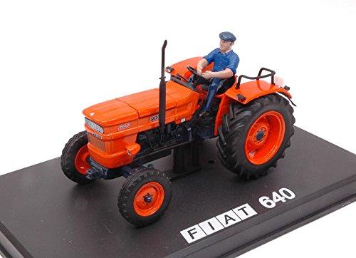 Trattore fiat 640 new fender 1:32 - replicagri - mezzi agricoli e accessori - die cast - modellino
