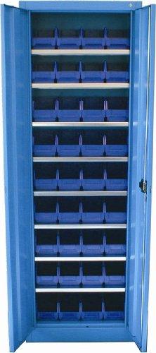 8723 Dresselhaus professionale-Werstatt-Armadio vuoto con scatole di stoccaggio